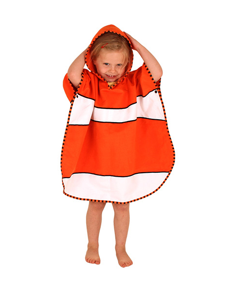 LittleLife-Ponchotowel-Fish2
